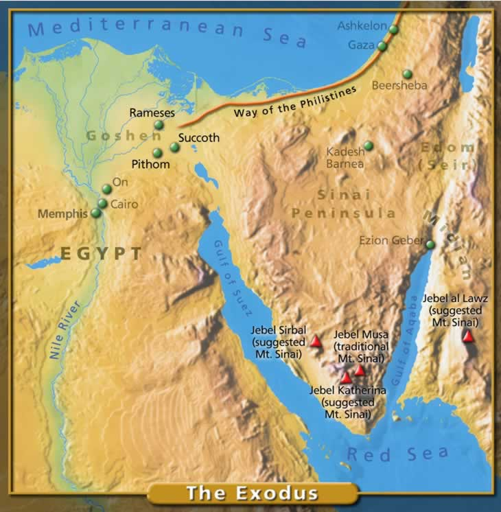 the foreshadowing of israels exodus in the life of abraham The exodus egypt, jordan & israel memphis is most likely where abraham lied to pharaoh about his wife sarah giving us a perspective of messianic life in israel.